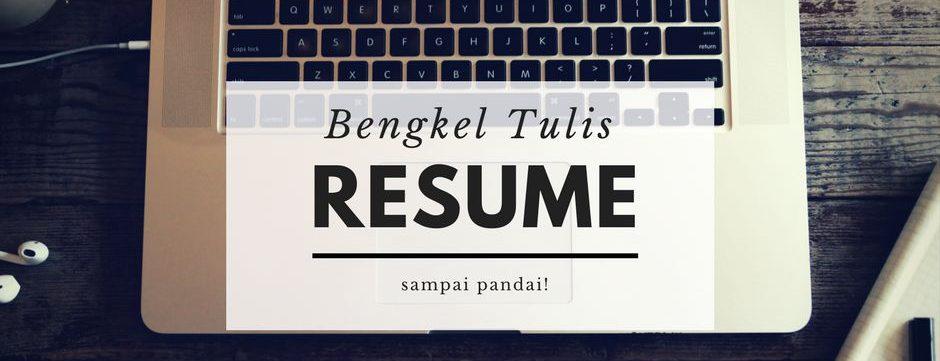 Bengkel Resume
